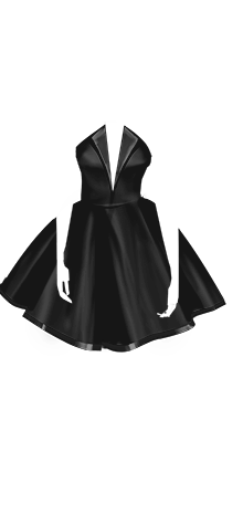 sasha dress black