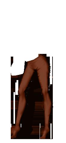 Raja brown legging