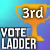 3rd Place in Vote Ladder Season 3